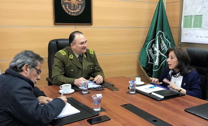 Colegio de Enfermeras solicitó explicaciones a Director Nacional de Orden y Seguridad de Carabineros por represión en Temuco