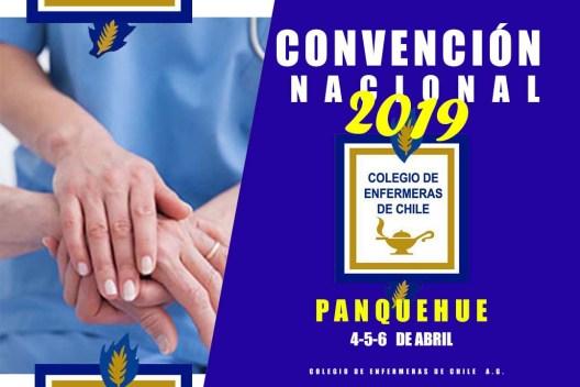AFICHE APAISADO CONVENCION NACIONAL 2019